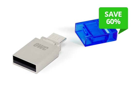 OWC 32.0GB Dual USB Flash Drive