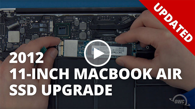 How to Install a SSD in a 11-inch MacBook Air 2012 - UPDATED