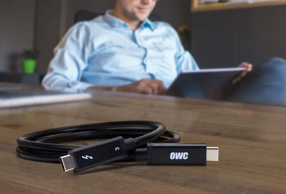 OWC Thunderbolt 3 Cables