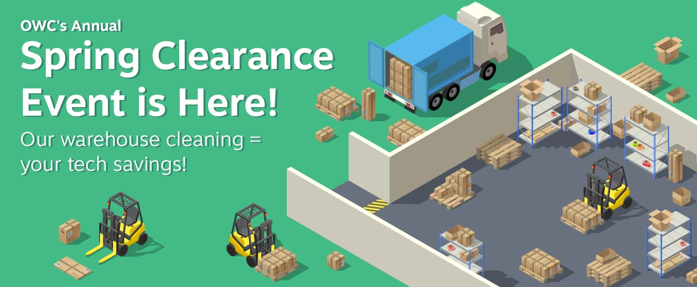 OWC's Annual Spring Clearance Event
